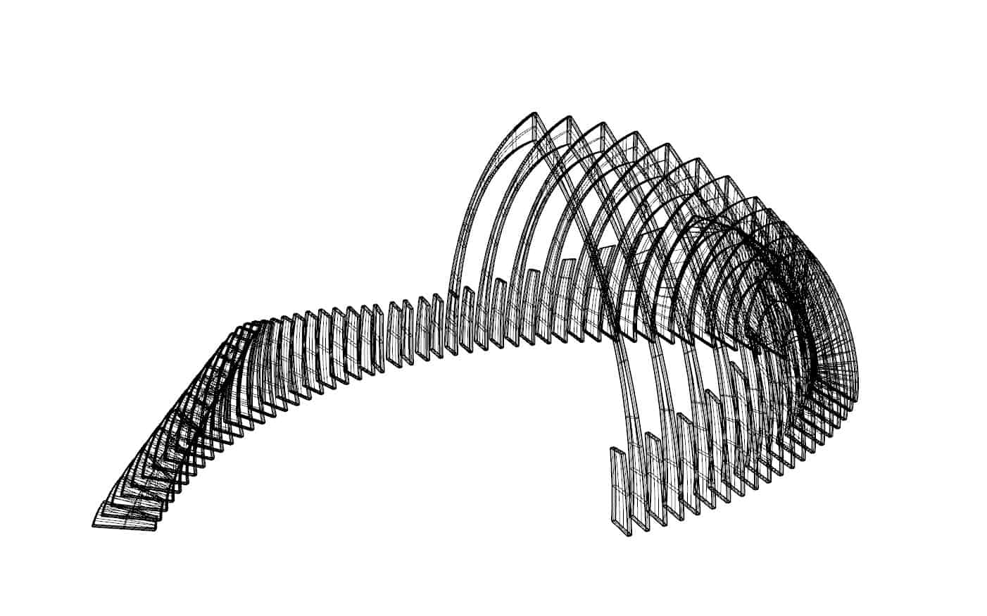 Black and white parametric scripting design