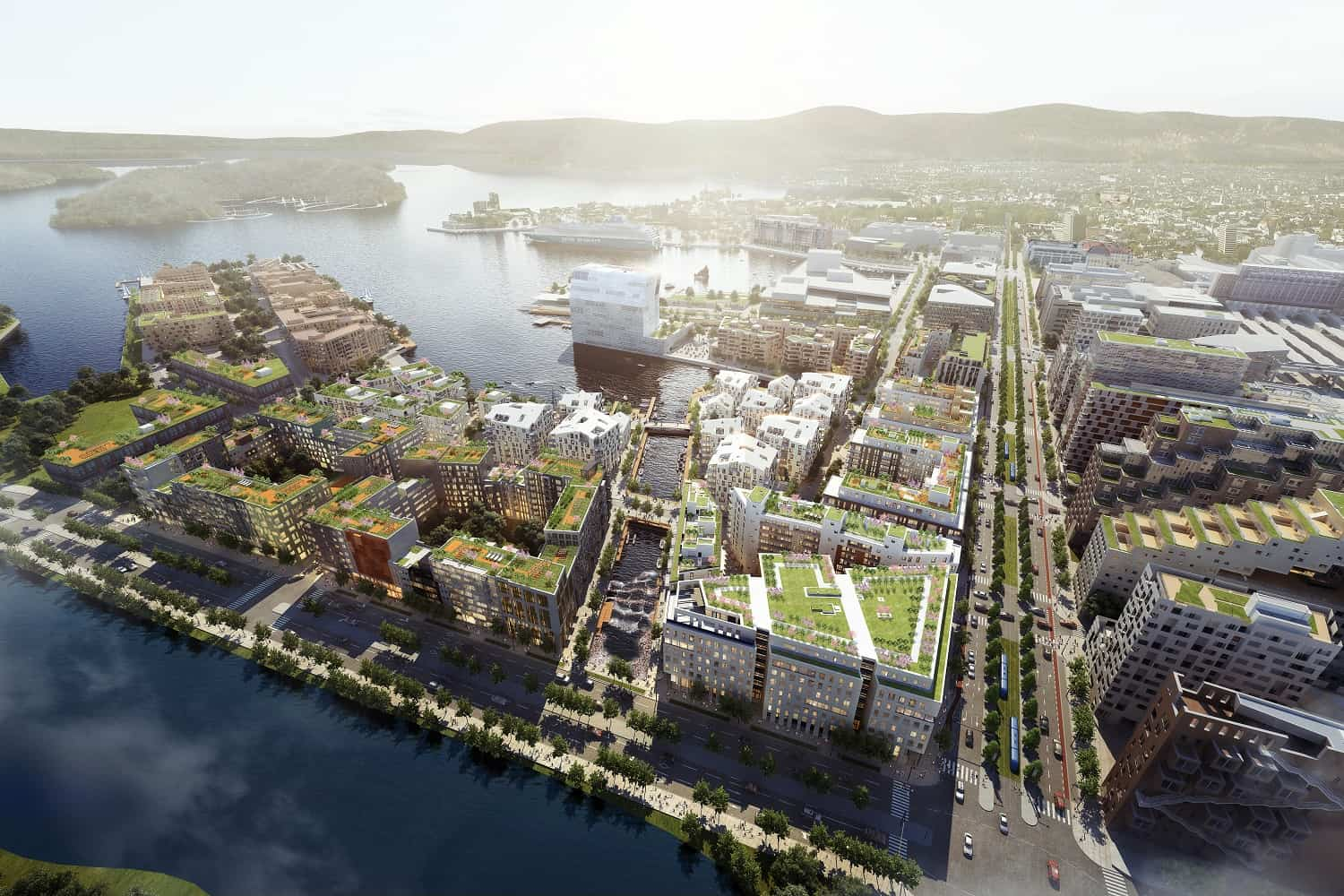 Leonard Design project - Oslo Bispevika - regeneration