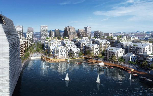 The Bispevika project in Oslo - designed by Leonard Design