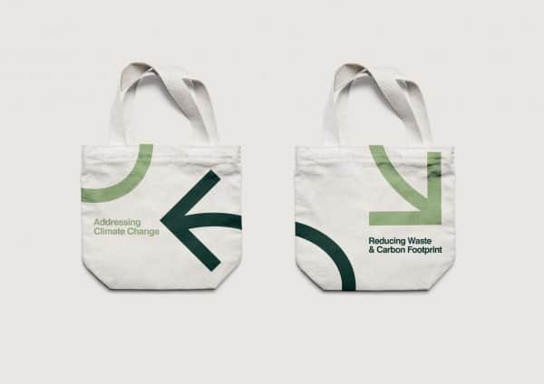 Leonard Green eco-friendly tote bags